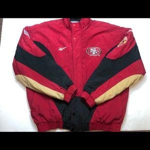 NFL San Francisco 49ers Reebok Pro Line Jacket